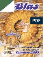 San Blas 2003