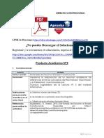 Producto académico N°3 - DERECHO CONSTITUCIONAL I