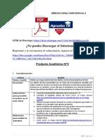 Producto académico N°3 - DERECHO PENAL PARTE ESPECIAL II