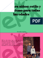 Alexandra Azpúrua - EPK Para Niños, Estilo y Modernismo Para Todas LasEdades