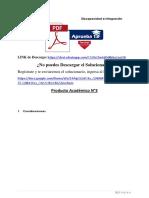 Producto académico N°3 - DISCAPACIDAD E INTEGRACIÓN