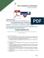 Producto académico N°3 - ÉTICA, CIUDADANÍA Y GLOBALIZACIÓN
