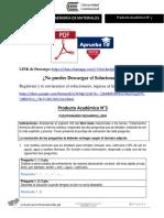 Producto académico N°3 - INGENIERÍA DE MATERIALES