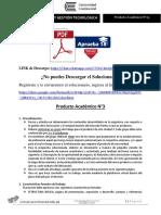 Producto académico N°3 - INNOVACIÓN Y GESTIÓN TECNOLÓGICA