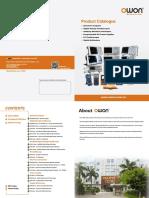 OWON product catalogue v3.2.1