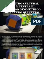 Víctor Vargas Irausquín - El Centro Cultural BOD Muestra El Universo Geométrico de Arturo Quintero