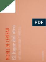 De certeau - historia religiosa.pdf