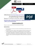Producto académico N°3 - PSICOLOGÍA DE LA PERSONALIDAD