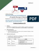 Producto académico N°3 - QUÍMICA II