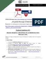 Producto académico N°3 - TEORÍA GENERAL DEL PROCESO
