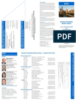 AAPL Forensic Psychiatry Review Course Brochure