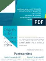 Criterios para publicidad de medicamentos-México