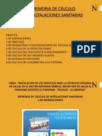 PPT INSTALACIONES SANITARIAS