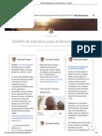 DIARIO de Estudios para el Desarrollo del Ser - Google+ Fernando Pardos (Completo 15-2-2019, 53 pags)