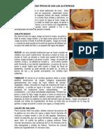 comidas típicas de san Luis Jipoteque