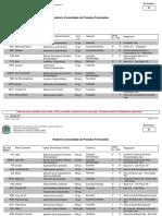 Relatório Condoslidado de Produtos Formulados Registrados Para Coqueiro - MAPA