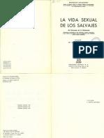 177260899 Bronislaw Malinowski La Vida Sexual de Los Salvajes