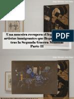 Jorge Miroslav Jara Salas - Una Muestra Recupera El Legado de Los Artistas Inmigrantes Que Llegaron a París Tras La Segunda Guerra Mundial, Parte II