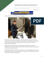 06-02-2019 - Sistema Estatal Penitenciario Nombra a Directores de Ceresos (1) - Canalsonora.com