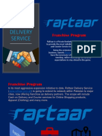 Franchise of Raftaar Delivery Service