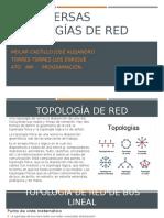 DIVERSAS TOPOLOGÍAS DE RED
