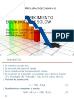 El Modelo de Crecimientode Solow (2)