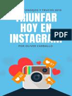 Triunfar Hoy en Instagram 2019 Por Oliver Carballo