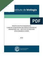 AD1 biologia aquática