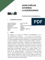 Juan Carlos Coveñas Llacsahuanga- Computrabajo