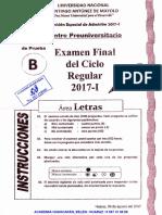 EXAMEN FINAL CPU UNASAM  REGULAR 2017 - I (ÁREA B) - ACADEMIA HUASCARÁN.pdf
