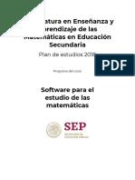 Sec2-Software Para El Estudio de Las Mtematicas