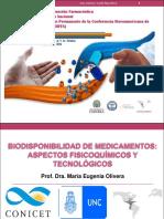 Taller Biodisponibilidad de medicamentos, María Eugenia Olivera.pdf