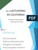 El Enoturismo en California