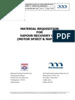 requisicion de materiales para urv