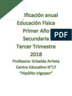 Planificacion Primer Año Secundario c.e.