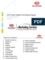 Automotive Digital Marketing; Tier 3 (Dealer) Advertising