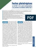 Efectos pleiotrópicos de los inhibidores del SGLT-2 en la salud cardiometabólica de los pacientes con diabetes mellitus tipo 2