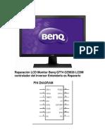Reparación LCD Monitor Benq Q7T4 OZ9938 LCDM Controlador Del Inversor Entenderlo Es Repararlo