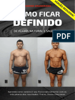 COMO FICAR DEFINIDO DE FORMA NATURAL - Por Rubens Granemann - Versão Reduzida