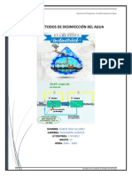 Tarea Métodos de desinfección del agua Ruben Cruz Alvarez Ingeniería Química 17070852 .docx