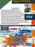 Ralph Paglia Introduction at J. D. Power Automotive Internet Roundtable Social Media Panel