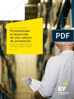 EY Promoviendo Desarrollo Cultura Prevencion