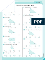 Razones Trigonometricas de Un Angulo Agudo