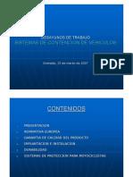 Criterios de Colocacion de Barreras de Contencion en Las Carreteras