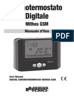Manuale VE384400 Mithos GSM Nero
