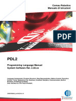PDL2 Programming Language Manual System Software Rel. 2.30.xx