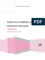 Practica Forense de Derecho Privado