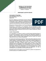 Audited Financial Statement 2011