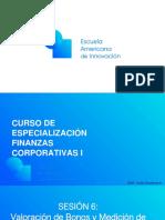 EAI Finanzas Corporativas. Sesión 6