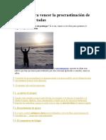 30 Ideas para vencer la procrastinacion.doc